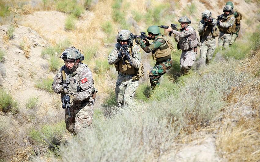 Подразделения спецназа Азербайджана, Турции и Пакистанавыполнили поставленные задачи