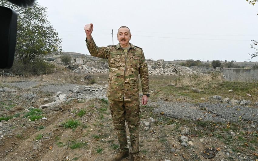 Президент: Освобождение Шуши в мировой военной истории займет особое место