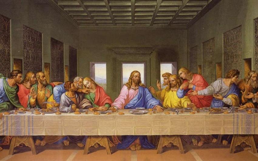 İtaliyalı alim Leonardo da Vinçinin Gizli axşam yeməyi əsərinin sirrini açıb