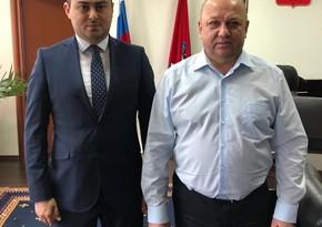 Шамиль Тагиев провел встречу с руководителем Департамента национальной политики Москвы