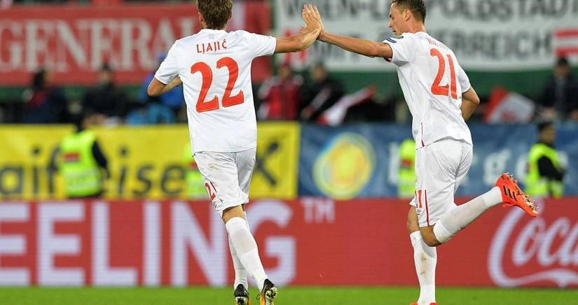 Beşiktaş və Mançester Yunaytedin futbolçusu millimizə qarşı oynamayacaq