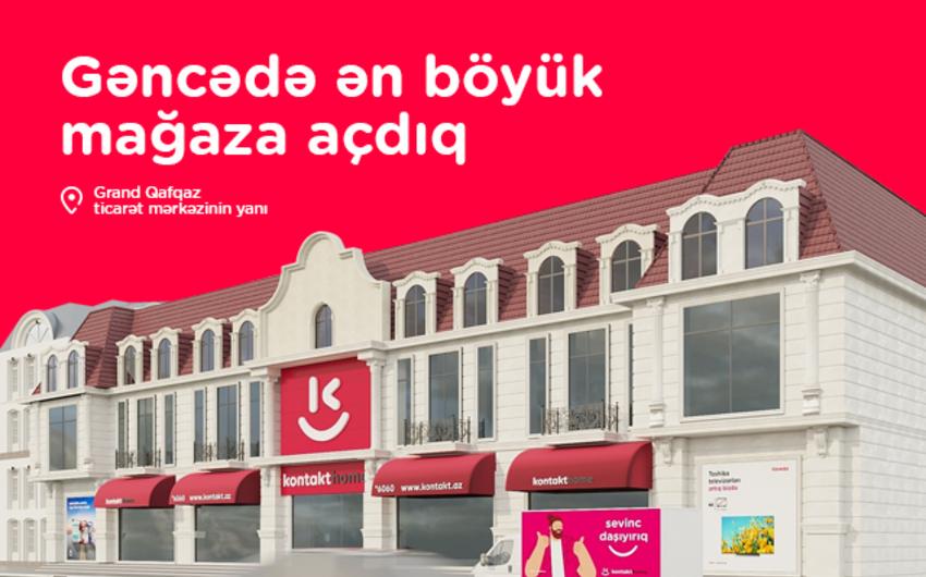 Gəncənin ən böyük elektronika və mebel mağazası açıldı – AÇILIŞA ÖZƏL 50 %-DƏK ENDİRİM