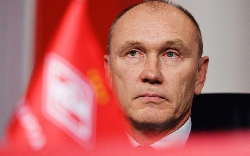 Spartak vitse-prezidenti ilə yollarını ayıracağını açıqlayıb