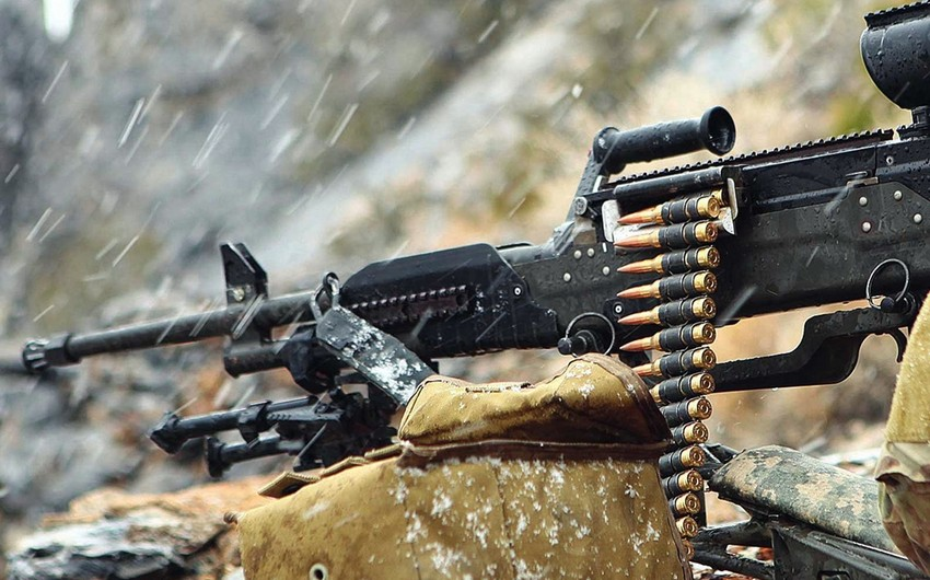 Armenians fired Azerbaijani Army positions using mortars, machine guns and howitzers