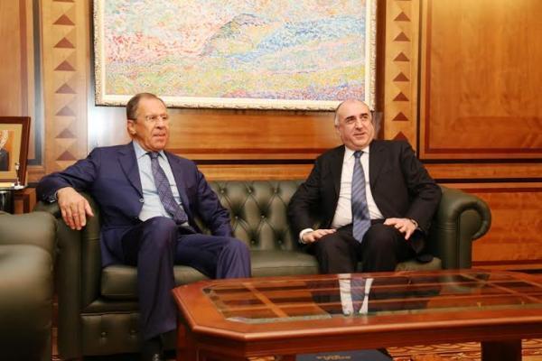 Лавров и Мамедъяров обсудят в Баку проблему Нагорного Карабаха