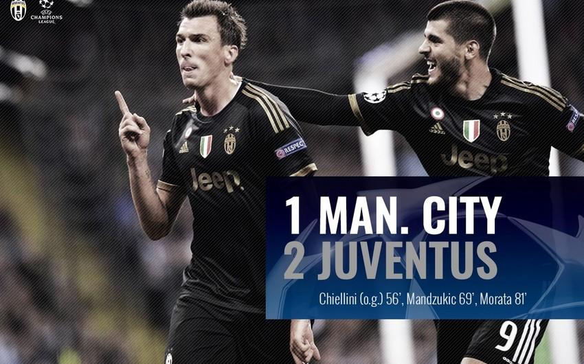 2015 16 Uefa Champions League Man City Juventus Video Report Az