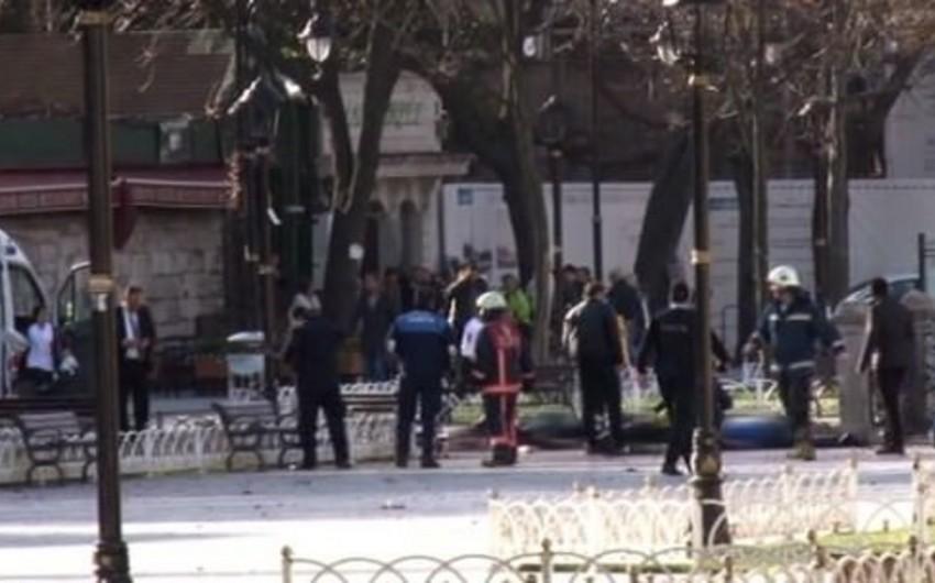 İstanbulda güclü partlayış olub, azı 9 alman turisti ölüb - VİDEO - YENİLƏNİB-2