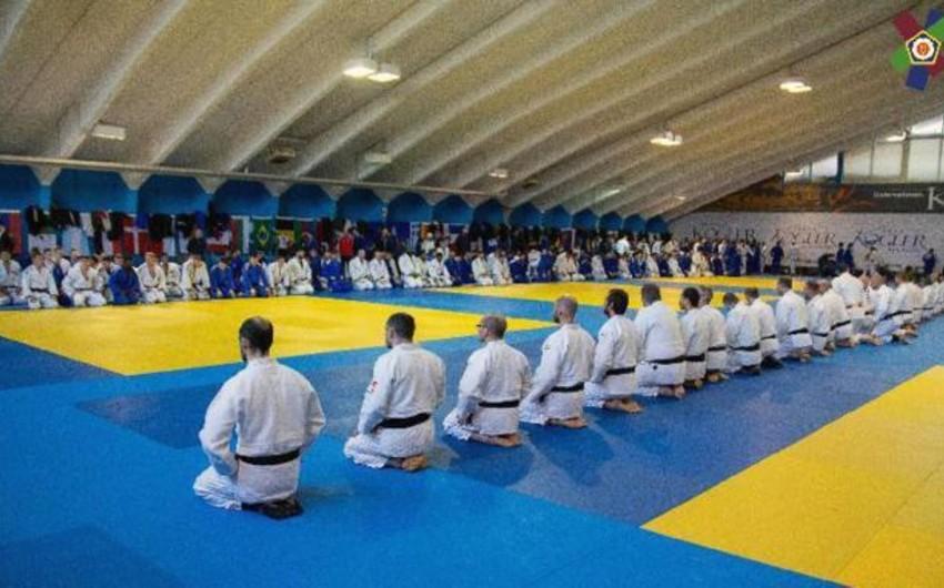 Azərbaycan cüdoçuları olimpiya çempionları ilə birgə toplanışa başlayıblar