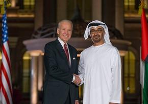 Biden, Crown Prince of Abu Dhabi hold telephone talks