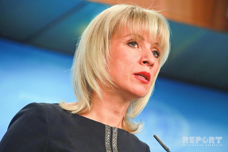 Mariya Zaxarova: Rusiya və Azərbaycan arasında humanitar dialoq inkişaf edir
