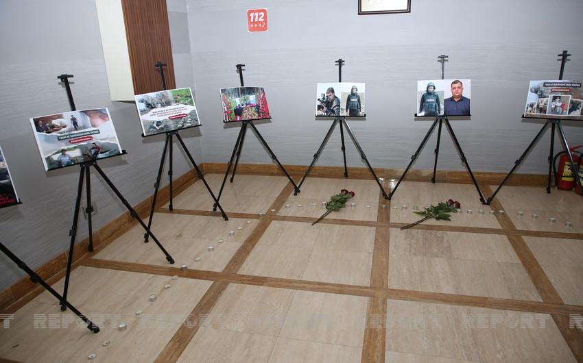 В Грузии почтена память погибших азербайджанских журналистов
