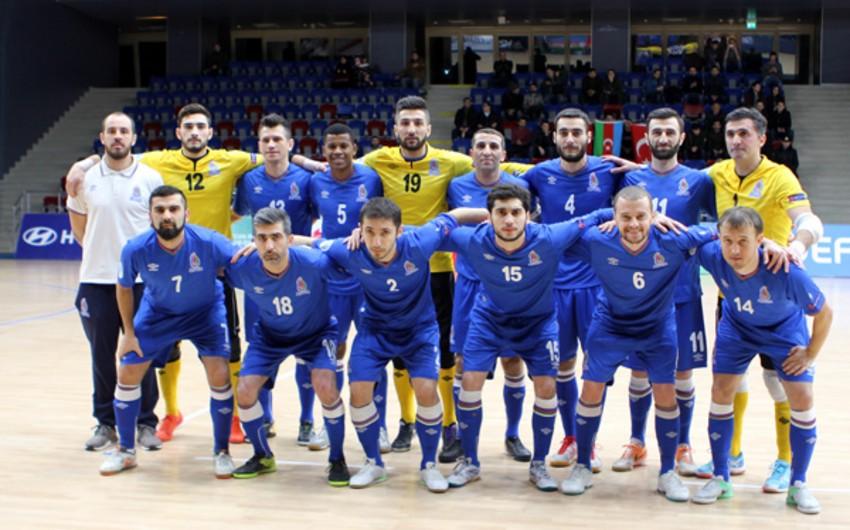 Futzal üzrə Azərbaycan millisinin Avropa çempionatı üçün heyəti açıqlanıb