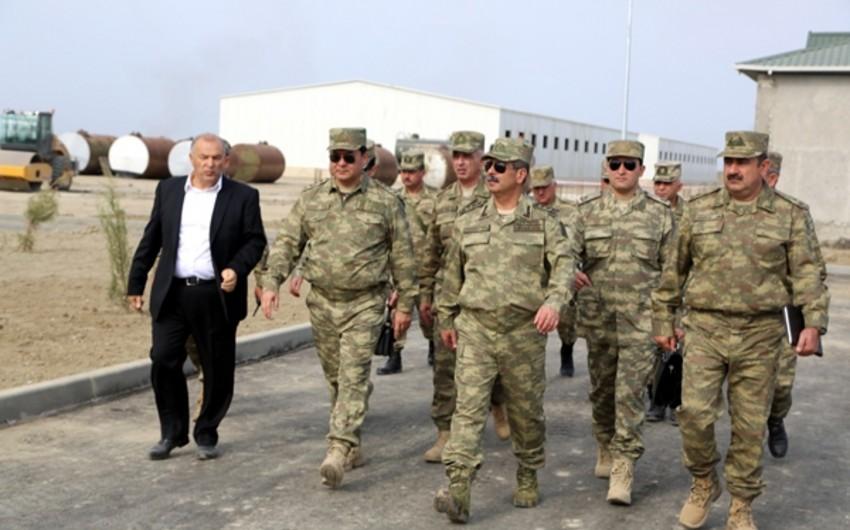 Azerbaijan built huge military camp on frontline - PHOTOS