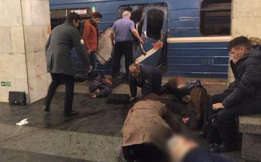 Sankt-Peterburqda törədilmiş terror aktı nəticəsində ölənlərin sayı 15-ə çatıb