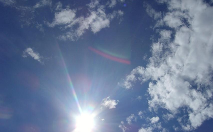 Sabah Bakı və Abşeron yarımadasında hava şəraiti yağmursuz olacaq