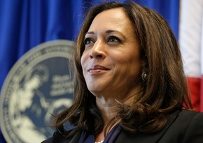 Kamala Harris discusses COVID-19 pandemic with Emmanuel Macron