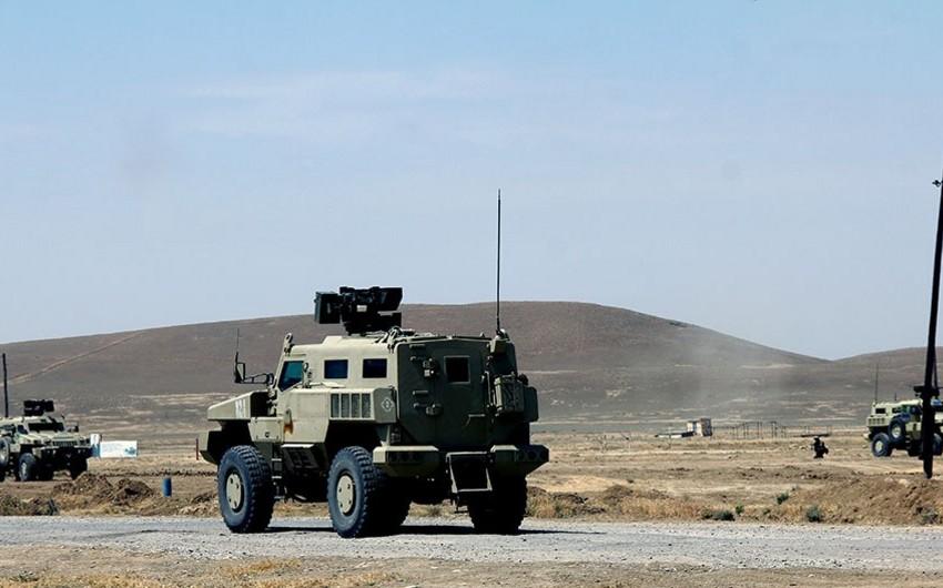 NATO rəsmisi və hərbi attaşelər Azərbaycan ordusunun kəşfiyyat bölüyünün təlimini izləyib