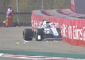 Formula 1: Rusiya Qran-prisi qəza ilə başladı
