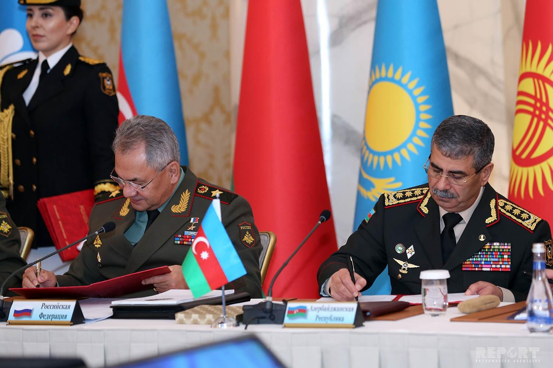 Bakıda MDB ölkələrinin 2025-ci ilədək hərbi əməkdaşlıq Konsepsiyası təsdiq edilib