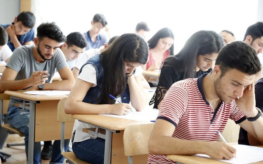 Обнародована дата приемных экзаменов в вузы Азербайджана