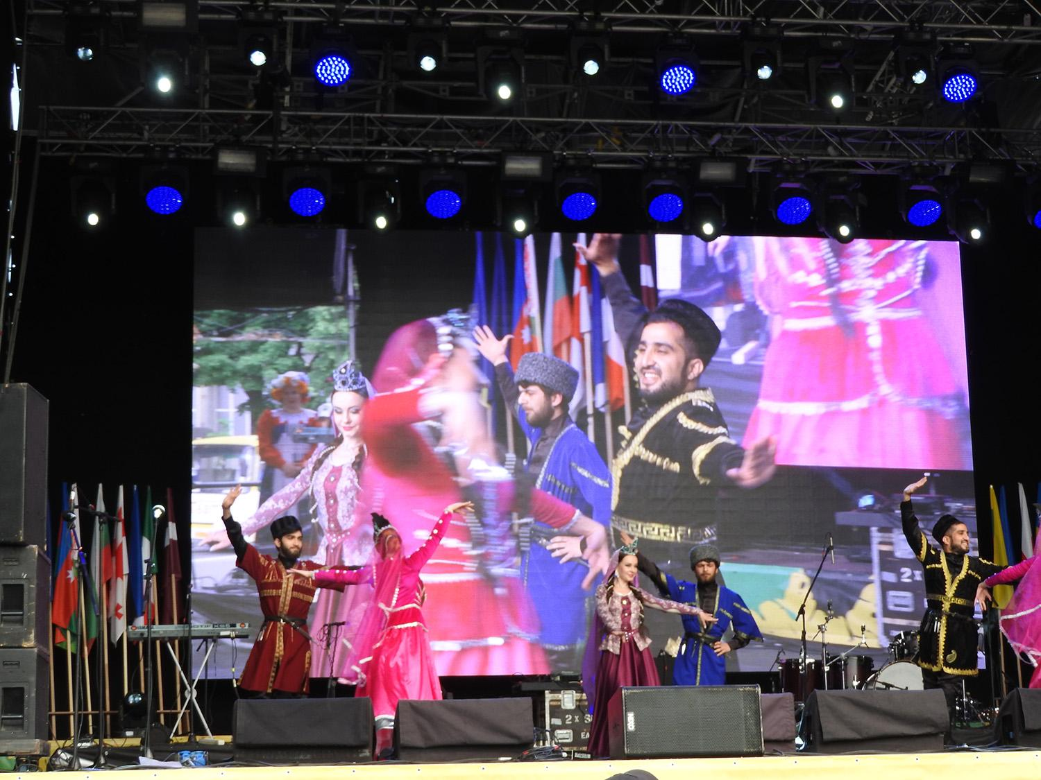 Azerbaijan's national cuisine, music and culture demonstrated in Ukraine