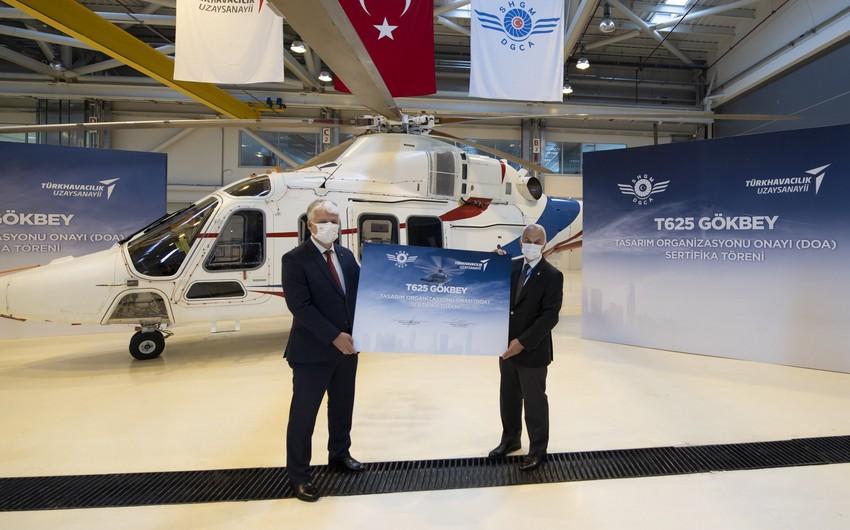 Türkiyə daha bir helikopterin kütləvi istehsalına başlayacaq