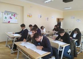 В Баку более 35 тысяч учащихся приняли участие в тестовом оценивании