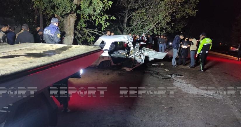 Qubada baş verən ağır yol qəzasında 4 nəfər ölüb, yaralanan var