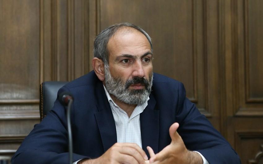 Nikol Paşinyan: Ermənistan ordusunun Baş Qərargah rəisi bu günün sonunadək işdən çıxarılacaq