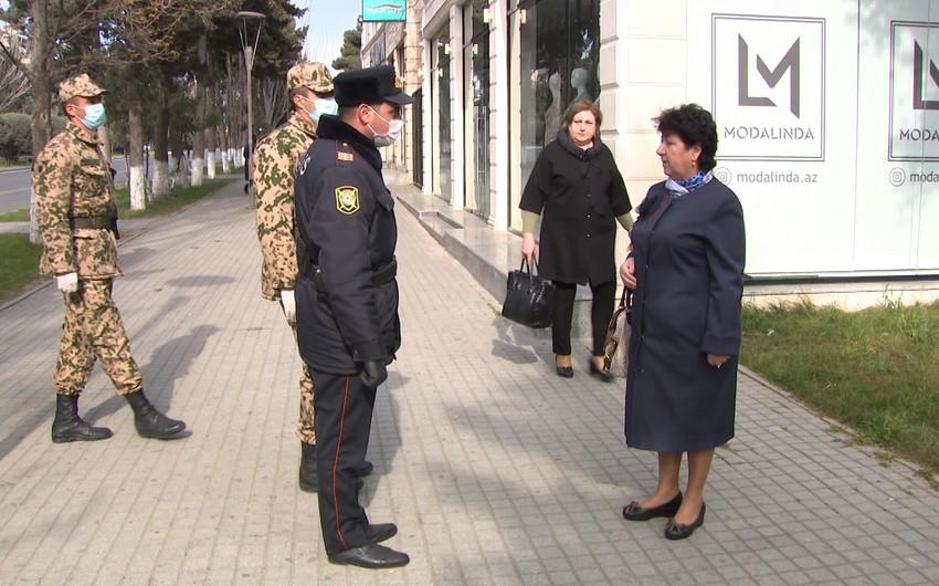 Sumqayıt polisi koronavirusla əlaqədar mobil qruplar yaratdı - YENİLƏNİB - VİDEO