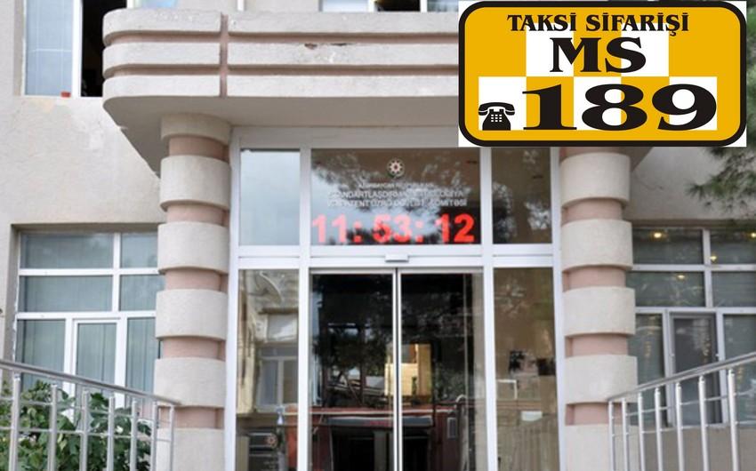 """""""189 Taxi Xidməti"""" MMC dövlət komitəsini məhkəməyə verib"""