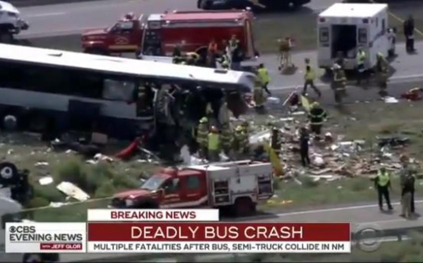 Число жертв ДТП с участием автобуса в США выросло до семи человек - ВИДЕО - ОБНОВЛЕНО