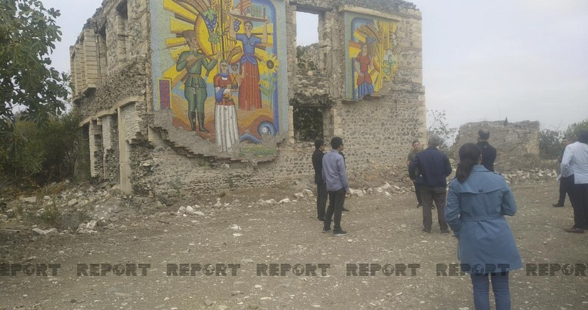 Foreign experts assess Aghdam historical monuments' destruction as acts of vandalism
