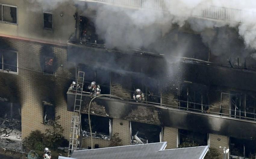 Yaponiyada anime studiyasında yanğın nəticəsində ölənlərin sayı 33 nəfərə çatıb - VİDEO - YENİLƏNİB-4