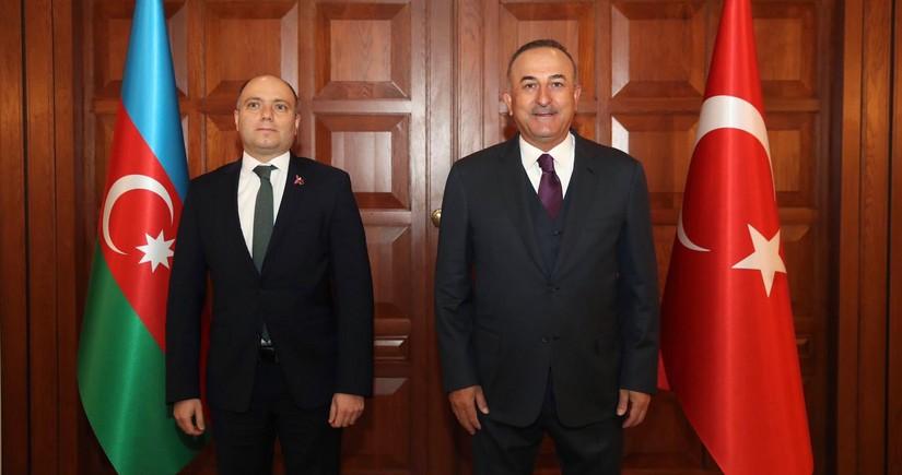 """Mövlud Çavuşoğlu: """"UNESCO-da Azərbaycanın haqlı davasını müdafiə edəcəyik"""""""