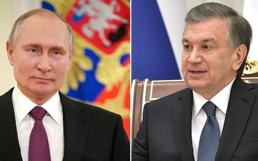 Vladimir Putin özbəkistanlı həmkarı ilə Əfqanıstandakı vəziyyəti müzakirə edib