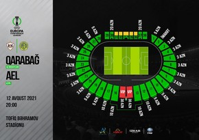 Qarabağ-AEL matçının biletləri satışa çıxarılır