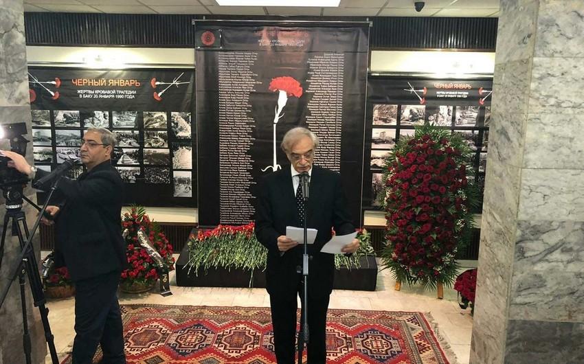 """Polad Bülbüloğlu: """"Azərbaycan 20 Yanvar hadisələrini bugünkü Rusiya ilə əlaqələndirmir"""""""