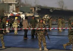 Kabulda bazar yaxınlığında terror aktı törədilib