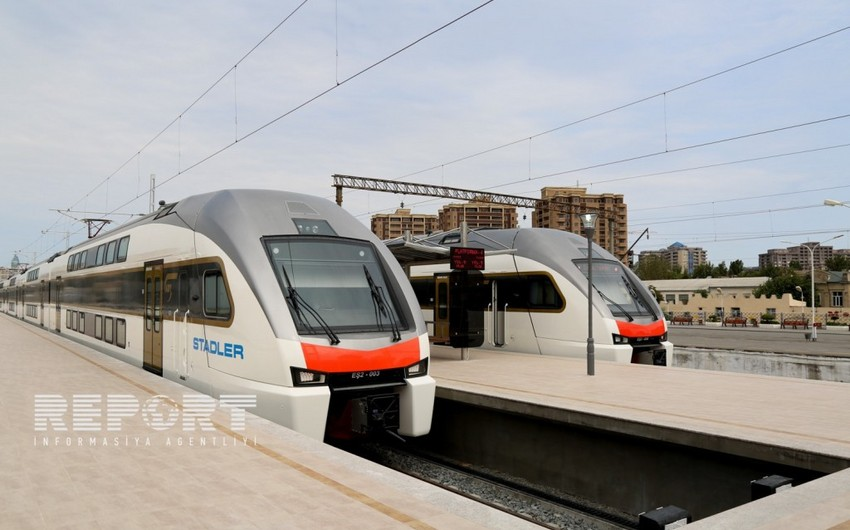 Speed of Baku-Sumgait trains will be increased
