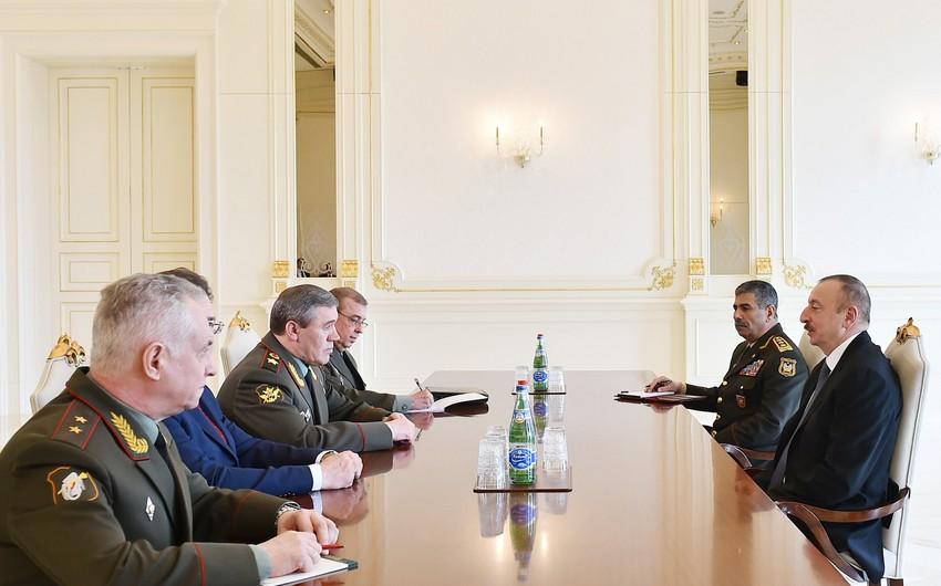 Prezident: Rusiya Baş Qərargah rəisi ilə NATO Ali Baş Komandanının Bakıda görüşməsi Azərbaycana olan inamın göstəricisidir- YENİLƏNİB