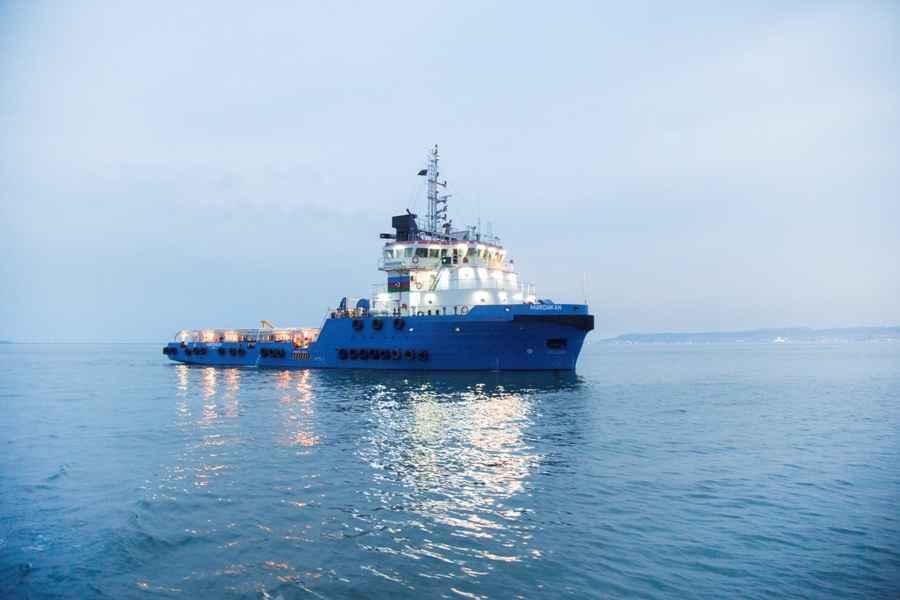 Cнабженческо-буксировочное судно Мардакян капитально отремонтировано