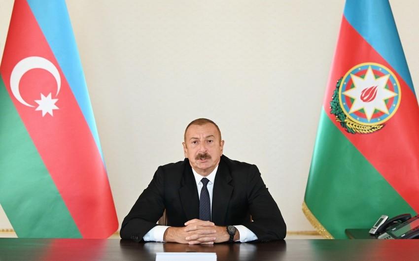 Azərbaycan Prezidenti: Ermənistan ərazisində hərbi hədəflərimiz yoxdur