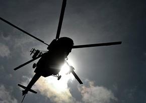 Вертолет береговой охраны Алжира упал в Средиземное море