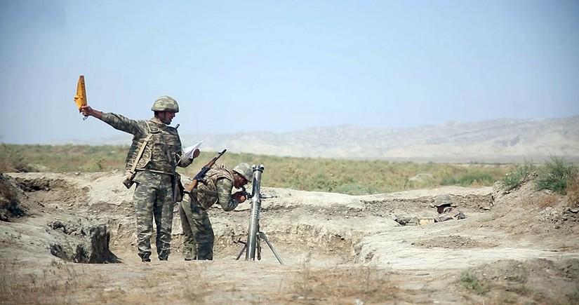 В минометных подразделениях продолжаются интенсивные занятия по боевой подготовке - ВИДЕО