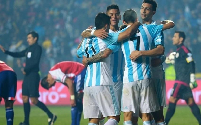 Argentina Paraqvayı darmadağın edərək Amerika Kubokunun finalına çıxıb