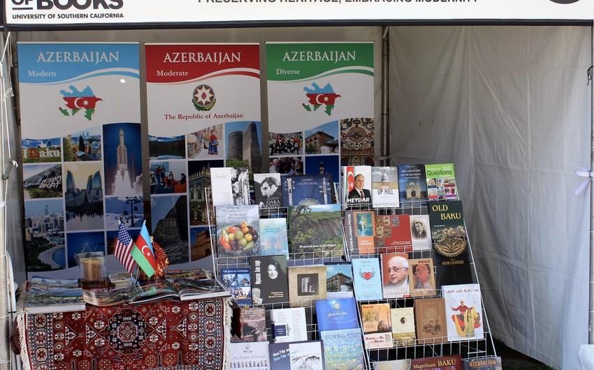 Azərbaycan ABŞ-ın ən böyük kitab festivalında təmsil olunub