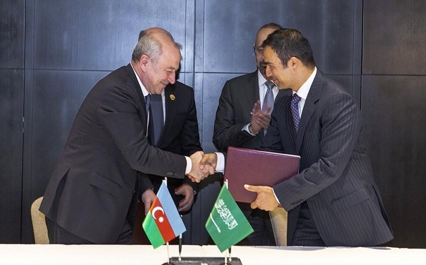 Azərbaycan və Səudiyyə Ərəbistanı arasında enerji sahəsində əməkdaşlıq memorandumu imzalanıb