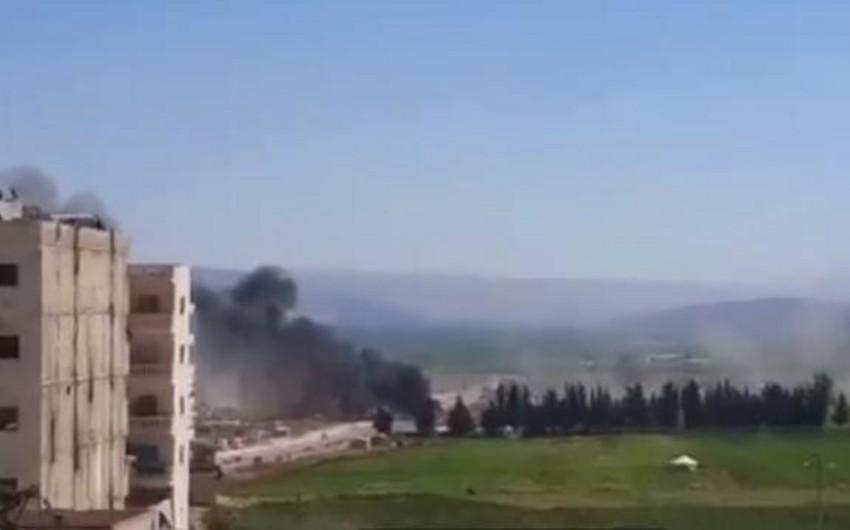PKK Afrini raket atəşinə tutub