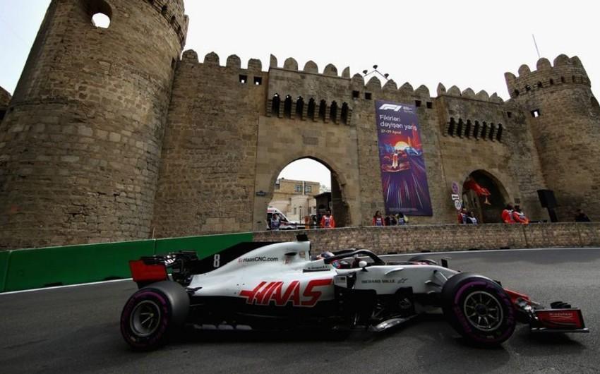 Formula 1: Bakıdakı yarışlarda baş vermiş ən maraqlı epizodlar açıqlanıb
